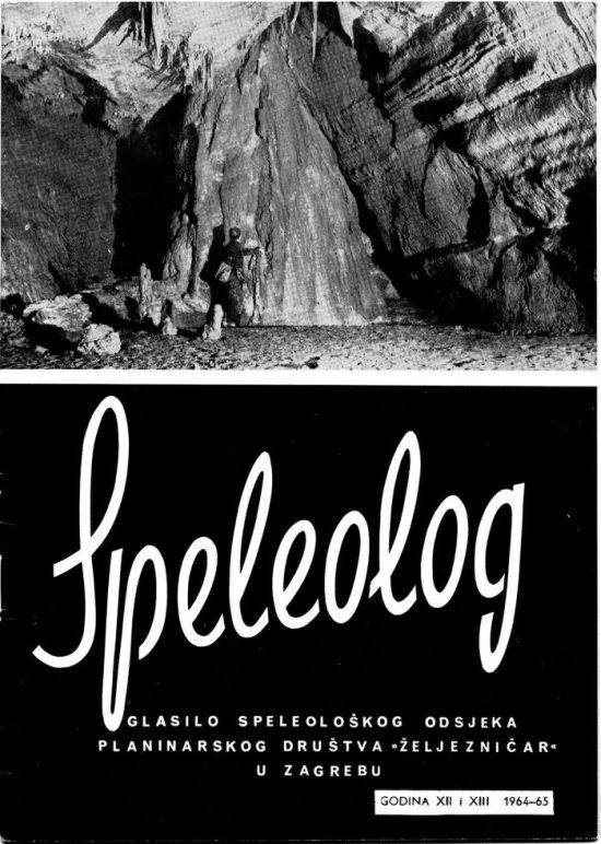 Speleolog, godište 12/13, 1964.-1965.