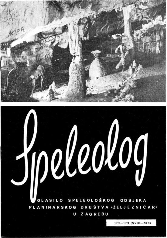 Speleolog, godište 18/19, 1970.-1971.
