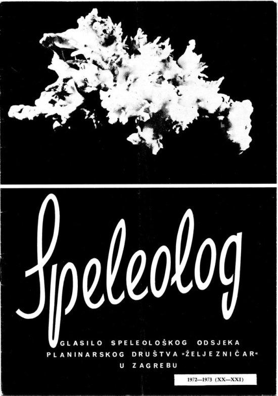 Speleolog, godište 20/21, 1972.-1973.