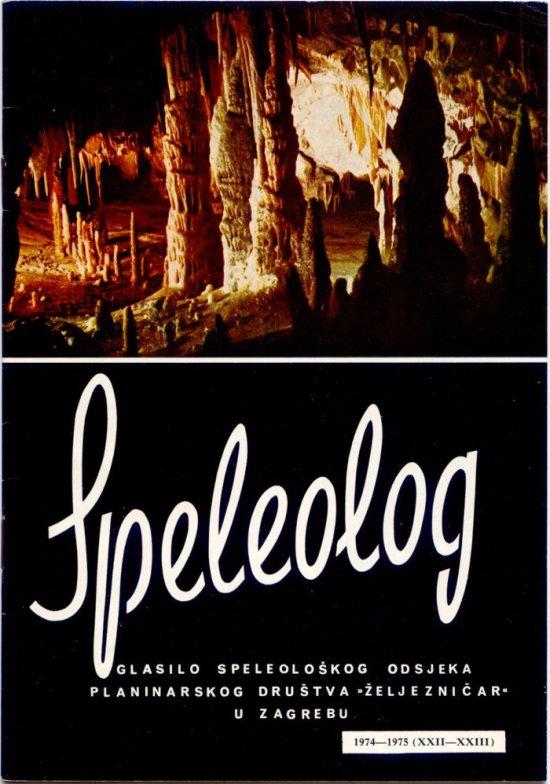 Speleolog, godište 22/23, 1974.-1975.