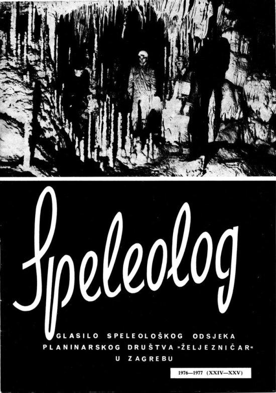Speleolog, godište 24/25, 1976.-1977.