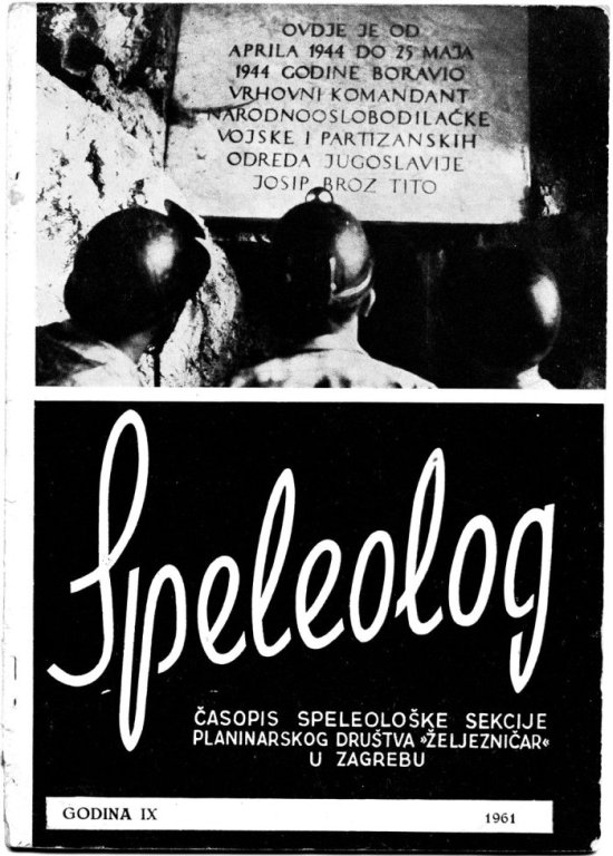 Speleolog, godište 9, 1961.