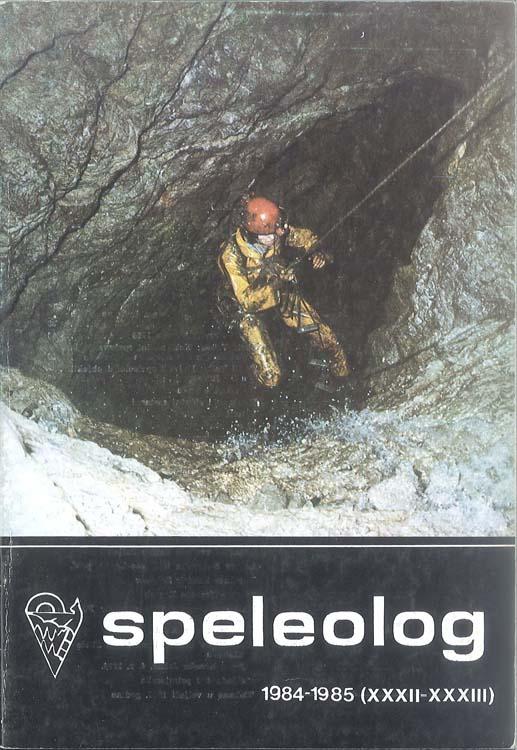 Speleolog, godište 32/33, 1984.-1985.