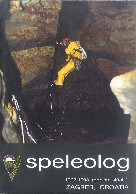 Speleolog, godište 40/41, 1992.-1993.