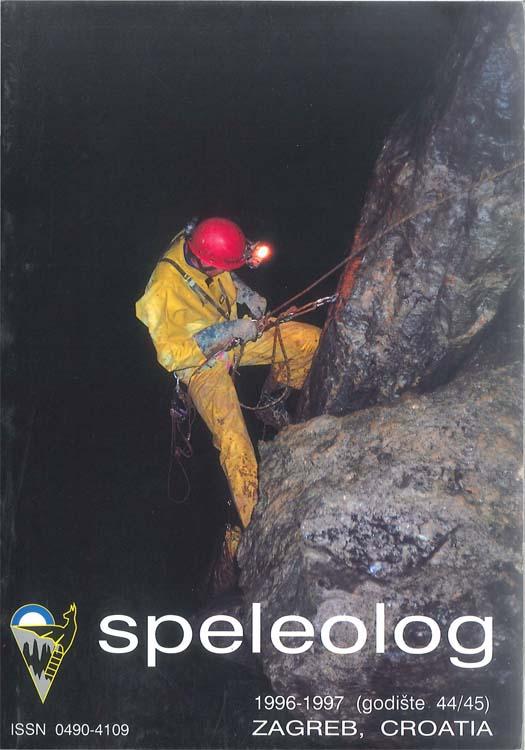 Speleolog, godište 44/45, 1996.-1997.