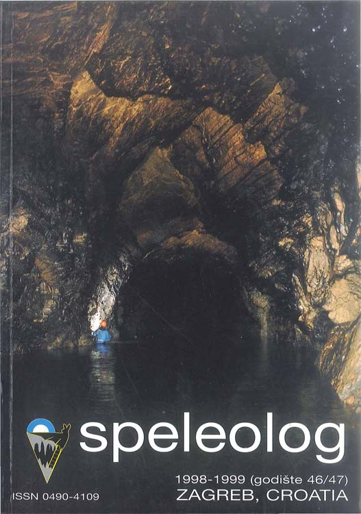 Speleolog, godište 46/47, 1998.-1999.