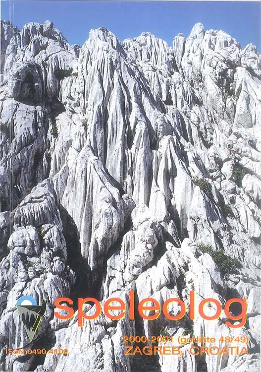 Speleolog, godište 48/49, 2000.-2001.
