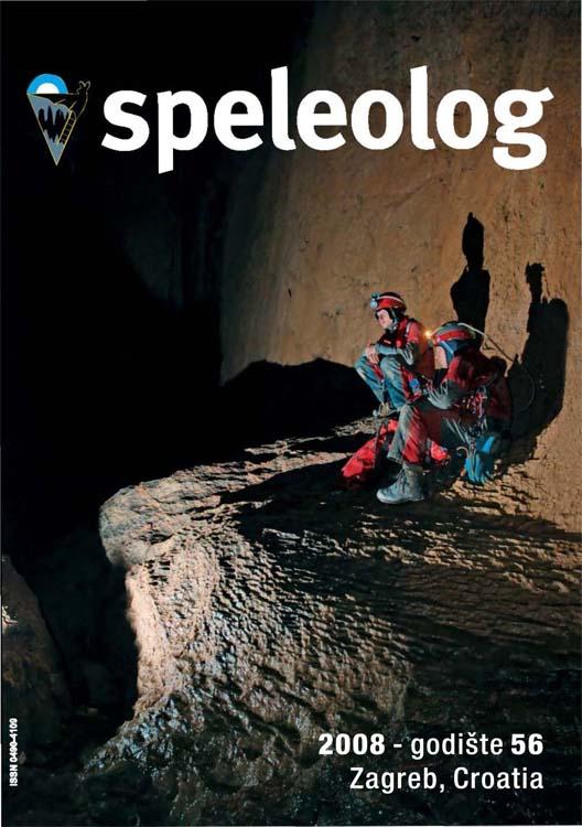 Speleolog, godište 56, 2008.