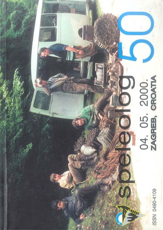 Speleolog, posebno izdanje povodom 50. godišnjice, 4.5.2000.
