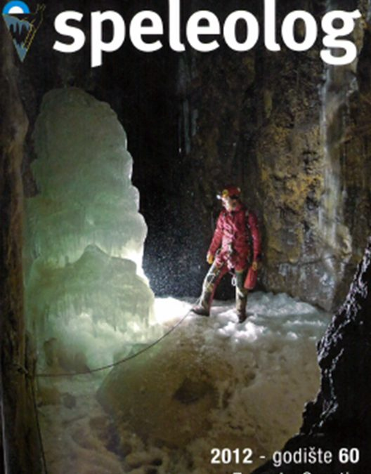 Speleolog, godište 60, 2012.