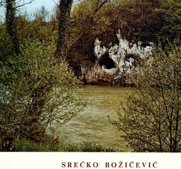 S. Božičević: Spilja Vrlovka u Kamanju (1977)